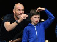 Zinédine Zidane: Tendre complicité avec son fils Elyaz devant des Bleus humiliés
