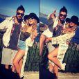 Perrie Edwards sur Instagram avec Zayn Malik, le 2 avril 2015