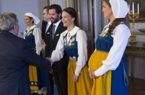 Madeleine et son baby bump, Estelle et son sourire : joyeuse fête en Suède !