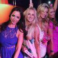 Farrah Brittany, Brooke Wiederhorn, Nicky Hilton, Paris Hilton - Belvedere Vodka présente la Bachelorette Party de Nicky Hilton au club Wall de Miami, Floride, le 6 juin 2015