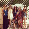 Paris Hilton a organisé le weekend d'enterrement de vie de jeune fille de sa soeur Nicky Hilton à Miami, sur Instagram le 6 juin 2015
