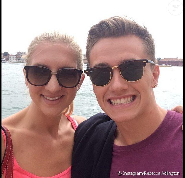 Rebecca Adlington et son mari Harry Needs - photo publiée sur Instagram le 28 mai 2015