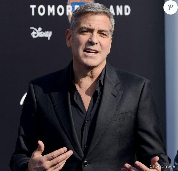 """George Clooney -Première du film """" Tomorrowland """" à Los Angeles le 9 mai 2015"""