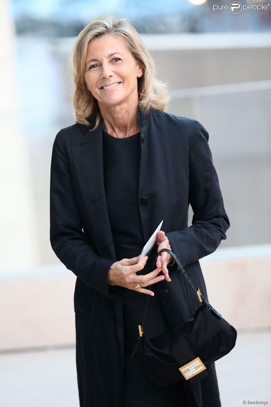 Claire Chazal - Inauguration de la Fondation Louis Vuitton à Paris le 20 octobre 2014.