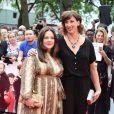 """Melissa McCarthy et Miranda Hart- Avant-première du film """"Spy"""" à Londres le 27 mai 2015."""