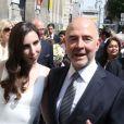 Arrivées au mariage de Pierre Moscovici et Anne-Michelle Bastéri à la mairie du VIème arrondissement de Paris le 13 juin 2015