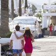 Arun Nayar et Kim Johnson à Ibiza, le 17 juin 2012