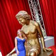 Poppy Montgomery lors de la soirée d'ouverture du 55e Festival international de télévision de Monte-Carlo, le 13 juin 2015 au Grimaldi Forum.