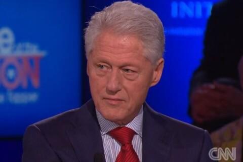 Bill Clinton ému et admiratif de sa femme Hillary : ''Je lui ai confié ma vie''