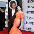"""Fran Drescher et son ex-mari Peter Marc Jacobson lors de la 68e cérémonie des """"Tony Awards"""" à New York, le 8 juin 2014."""