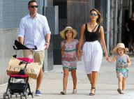 Jessica Alba : Shopping à New York pour une fête des Pères en famille