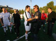 REPORTAGE PHOTOS EXCLUSIVES  : Le clan Hallyday, PPDA, les comiques de service, etc. : les people réunis pour un match de foot délirant !