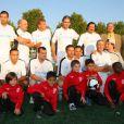 Match de gala à Clichy : les Blancs de Darmon, Rouve et PPDA