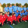 Match de gala à Clichy : les Bleus de Baffie, Mezrahi et David Hallyday