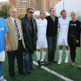 Match de gala à Clichy : Baffie, Johnny, Darmon, Jean Reno, PPDA, Laeticia…