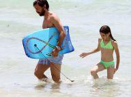 Andrea Pirlo : Sourires et rires avec ses deux bambins, avec sa belle Valentina