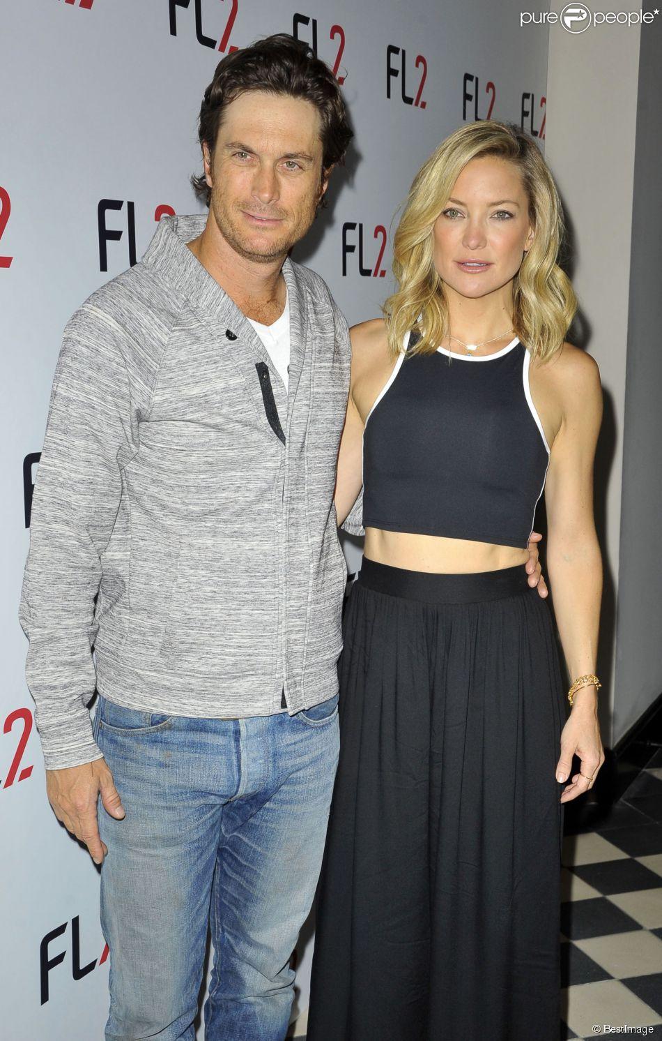 """Kate Hudson et son frère Oliver Hudson assistent à la soirée """"FL2 Launch"""" à New York, le 4 juin 2015"""