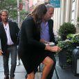 EXCLUSIF - Caitlyn Jenner lors de son arrivée au restaurant Tutto Il Giorno à Tribeca, à New York, le 29 juin 2015
