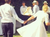 Agathe Lecaron mariée : L'animatrice a épousé son amoureux François Pellissier