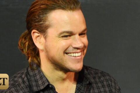Matt Damon : Une queue de cheval et le voilà plus hot que jamais !