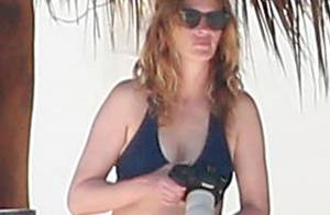 Julia Roberts sexy en bikini à 47 ans sous le soleil du Mexique