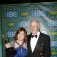 Susan Ekins et Jerry Weintraub à West Hollywood le 22 septembre 2013.
