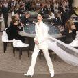 Défilé Chanel (collection haute couture automne-hiver 2015-2016) au Grand Palais. Paris, le 7 juillet 2015.