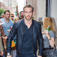 Ryan Reynolds quitte le HuffPost Live à New York le 6 juillet 2015.