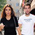 Cesc Fabregas et Daniella Semaan à Londres le 23 septembre 2014.