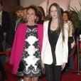 """Diane Lane et sa fille Eleanor Jasmine Lambert (fille de Christophe Lambert) à la première de """"Every Secret Thing"""" au Festival de Tribeca 2014 à New York, le 20 avril 2014."""