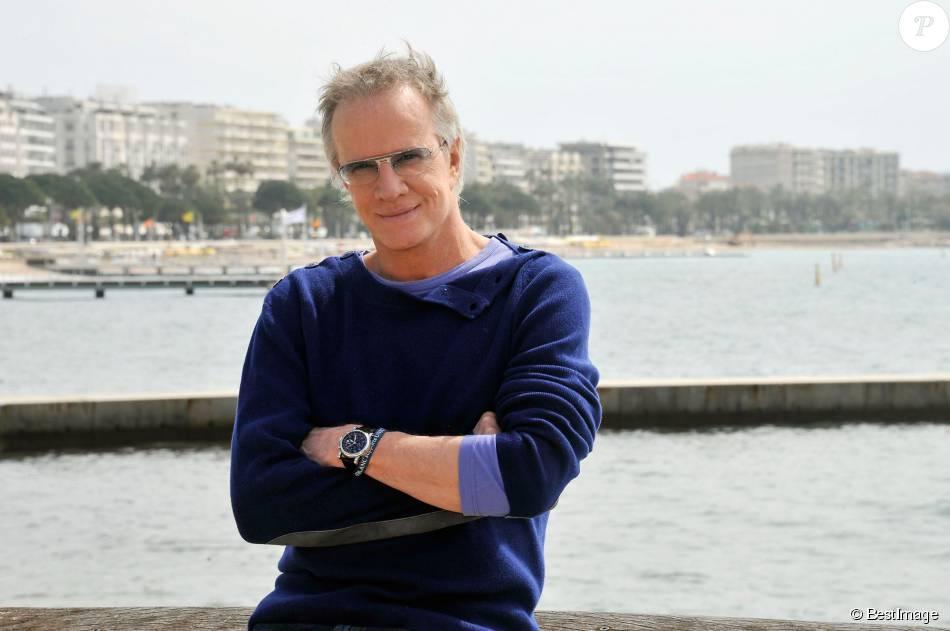 Christophe Lambert - 50e Edition du MipTV à Cannes le 8 avril 2013