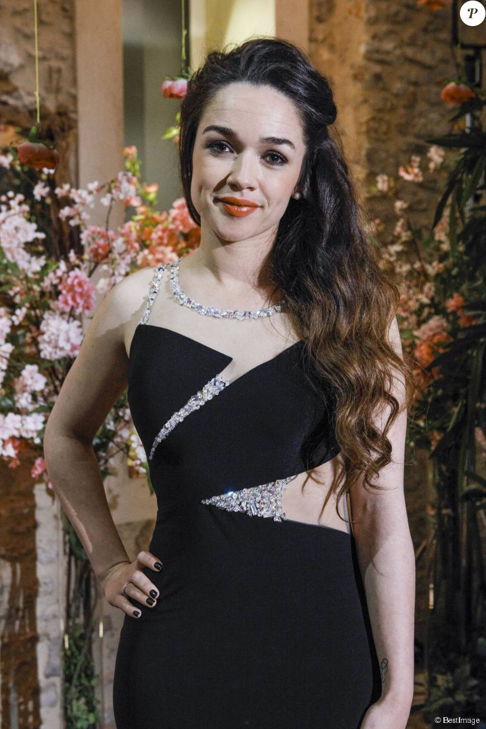 Exclusif - Jazz, lors de la cérémonie finale de l'émission  Qui veut épouser mon fils ?  saison 4 (tournage le 7 mars 2015, diffusion le vendredi 17 juillet 2015).