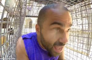 Tony Parker dans Fort Boyard : Attaqué par un tigre en pleine épreuve !