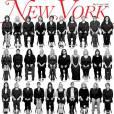 La couverture du New York Magazine du 27 juillet 2015, avec en couverture 35 des 46 présumées victimes des agressions sexuelles de Bill Cosby