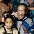 Bill Cosby et le cast du Cosby Show