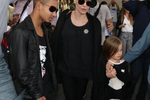 Angelina Jolie avec son fils Maddox sur les traces de son passé