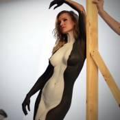 Joanna Krupa, nue pour la PeTA : Couverte de peinture, elle défend les orques