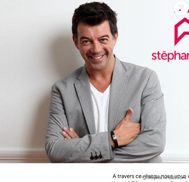 La page d'accueil du site StephanePlaza.com