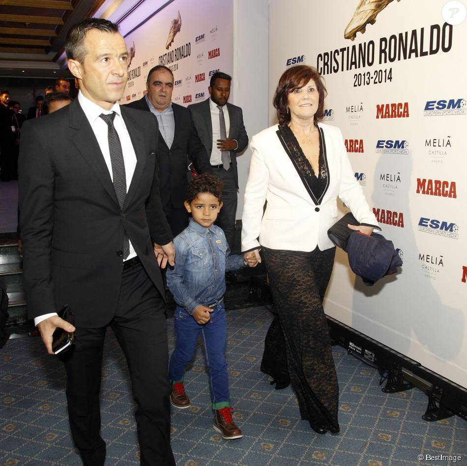 Photo of Jorge Mendes & his  Son  Jorge Mendes Júnior