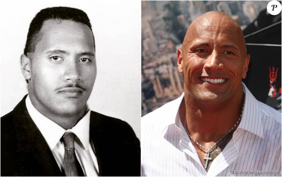 926ae3f808 Dwayne Johnson à 16 ans : Trente ans plus tard, The Rock n'a pas ...