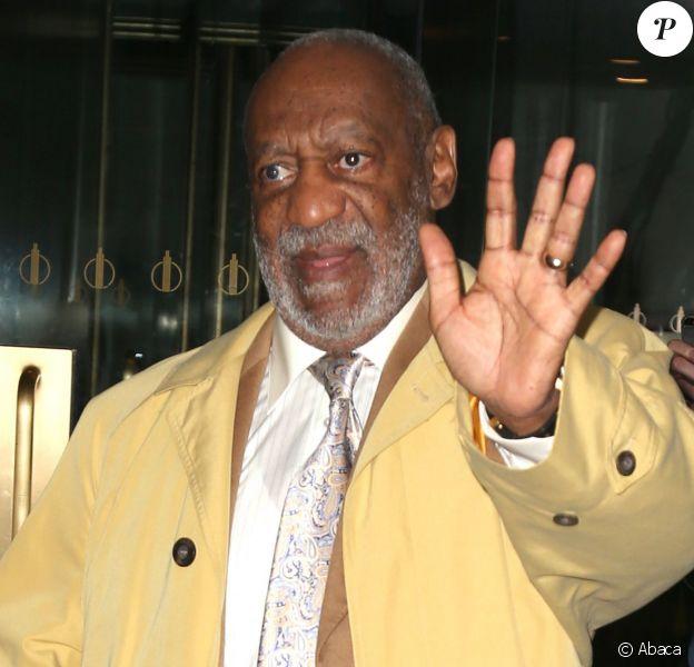 "Bill Cosby à la sortie du ""The Today Show"" le 5 mai 2014 à New York"
