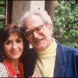 Georges Fillioud et Danièle Evenou en avril 1991