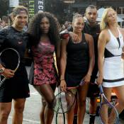 Rafael Nadal, Maria Sharapova... Les stars du tennis font le show à New York