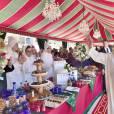 Image des célébrations solennelles du 16e anniversaire de l'avènement du roi Mohammed VI du Maroc, fin juillet 2015 à Rabat.