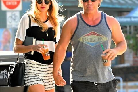 Josh Brolin et sa jolie Kathryn Boyd : Pause glacée pour les heureux fiancés