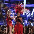 Nicki Minaj et Taylor Swift - Soirée des MTV Video Music Award,s à Los Angeles, le 30 août 2015