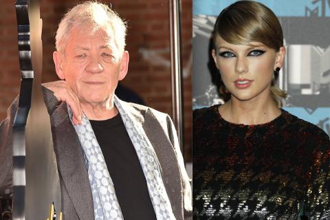 Taylor Swift : Le célèbre Gandalf, Ian McKellen, est fâché contre elle