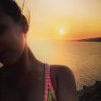 Pauline Ducruet en bikini Kiini, image de ses vacances à Mykonos en août 2015. La fille de la princesse Stéphanie de Monaco est de retour à New York pour de bon, en septembre 2015 !