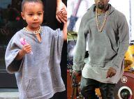 Kim Kardashian, enceinte : Stylée avec North, qui s'habille comme Kanye !