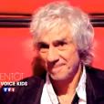 Louis Bertignac dans The Voice Kids 2, à partir du 25 septembre 2015 sur TF1.